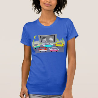 Small Town Drive-In Movie T-Shirt