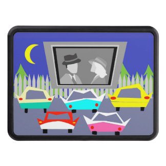 Small Town Drive-In Movie Trailer Hitch Tow Hitch Cover