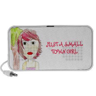Small Town Girl Doodle Speaker