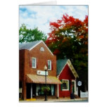 Small Town in Autumn Princess Anne MD Cards