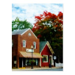 Small Town in Autumn Princess Anne MD Post Cards