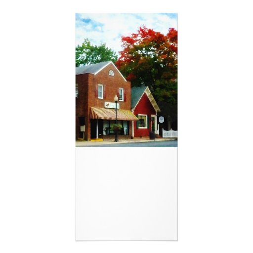 Small Town in Autumn Princess Anne MD Rack Card