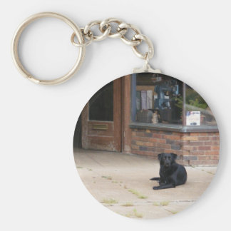 Small Town Life Keychain