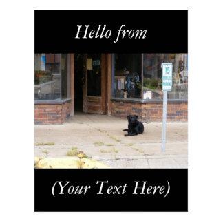 Small Town Life Postcard