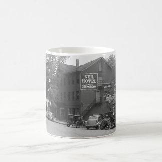 Small Town Ohio, 1930s Classic White Coffee Mug