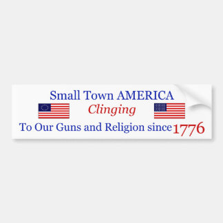 Small Town Proud Bumpersticker Bumper Sticker
