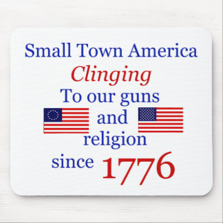 Small Town Proud Mouse Pad