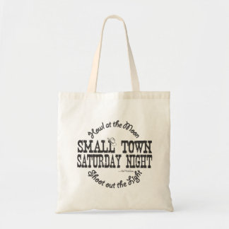 Small Town Saturday Night - Country Music - Bag