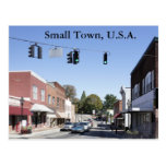 Small Town USA Post Card