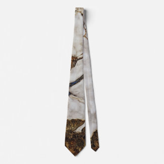 Small Tree In Late Autumn by Egon Schiele Neck Tie