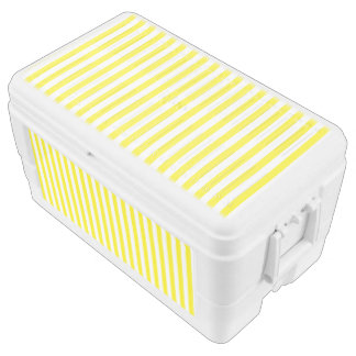 Small Vertical Yellow Stripes Chest Cooler