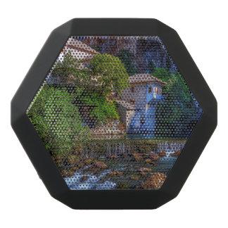 Small village Blagaj on Buna waterfall, Bosnia and Black Bluetooth Speaker