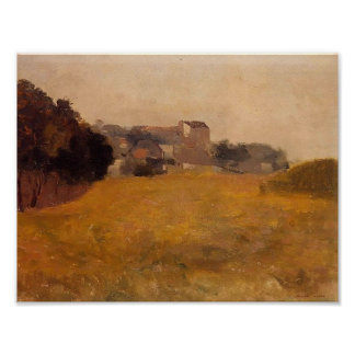 Small Village in the Medoc by Odilon Redon Print