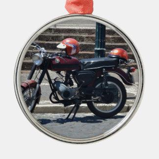 Small Vintage Zundapp Metal Ornament
