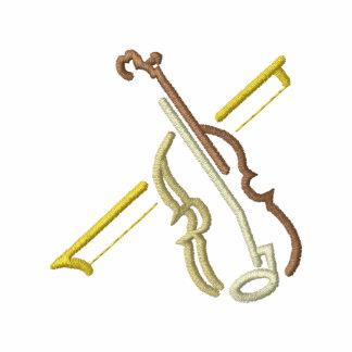 Small Violin Outline Polo Shirt