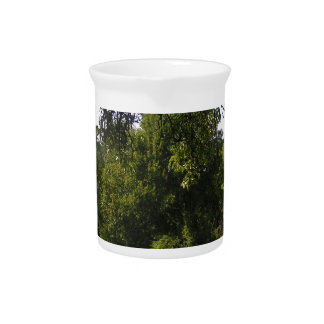 """""""small walk in the green"""" beverage pitchers"""