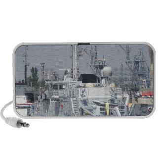 Small Warship Portable Speakers