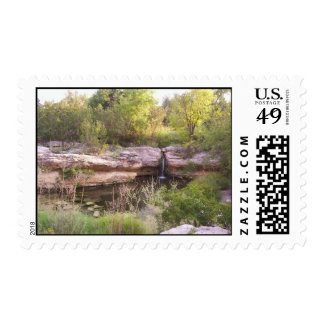 small waterfall stamps