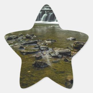 Small Waterfall Star Sticker