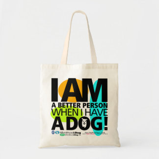 Small WHEN I HAVE A DOG Tote Bag