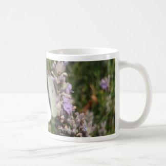 Small White Butterfly Coffee Mug