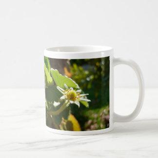 Small White Flower Coffee Mug
