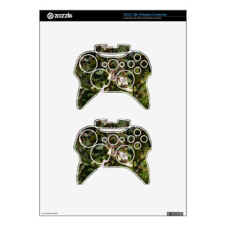 Small White Flower Xbox 360 Controller Decal