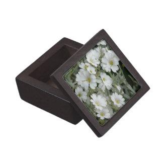 Small White Flowers Gift Box