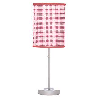 Small White Polka Dot Lamp
