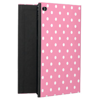 Small White Polka Dots on hot pink Powis iPad Air 2 Case