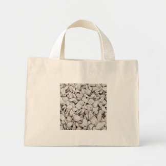 Small White Stone Cover Bag