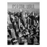 Small World New York Poster