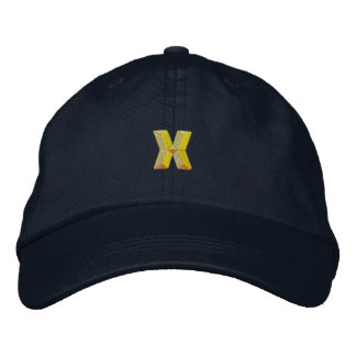 Small X Embroidered Baseball Cap