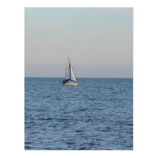 Small Yacht Offshore. Postcards