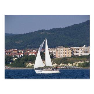 Small Yacht Postcard
