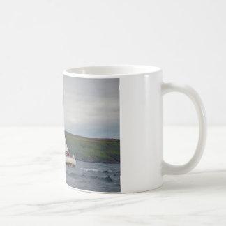 Small Yacht Sailing Hard Coffee Mug