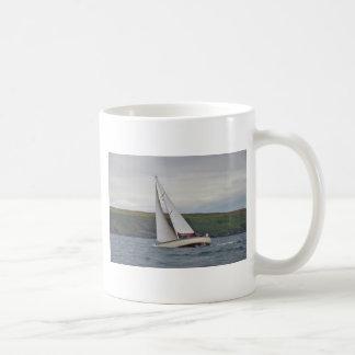 Small Yacht Sailing Hard Mug