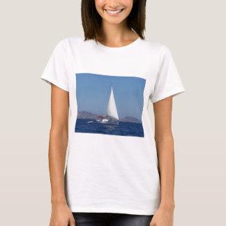 Small Yacht Under Genoa T-Shirt