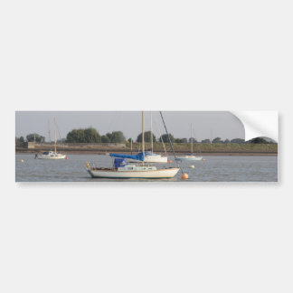 Small Yachts Car Bumper Sticker