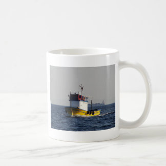 Small Yellow Fishing Boat Coffee Mug