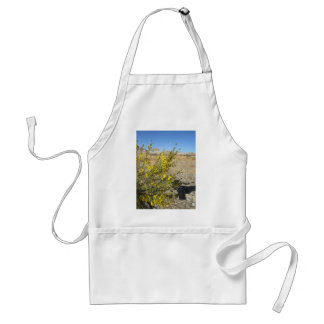 small yellow flower adult apron