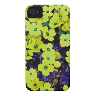 Small Yellow Flowers Case-Mate iPhone 4 Case