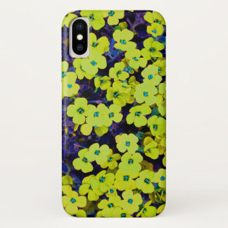 Small Yellow Flowers iPhone X Case