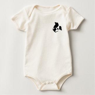 Small Zoi face Baby Bodysuit