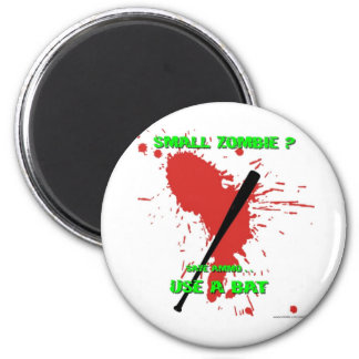 Small Zombie ? 2 Inch Round Magnet