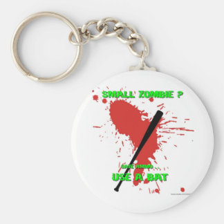Small Zombie ? Basic Round Button Keychain