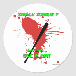 Small Zombie ? Classic Round Sticker