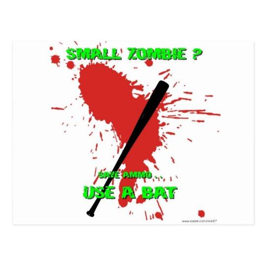 Small Zombie ? Postcard