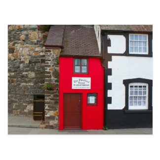 Smallest house in Great Britain Postcard