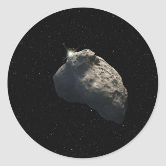 Smallest Kuiper Belt Object Classic Round Sticker